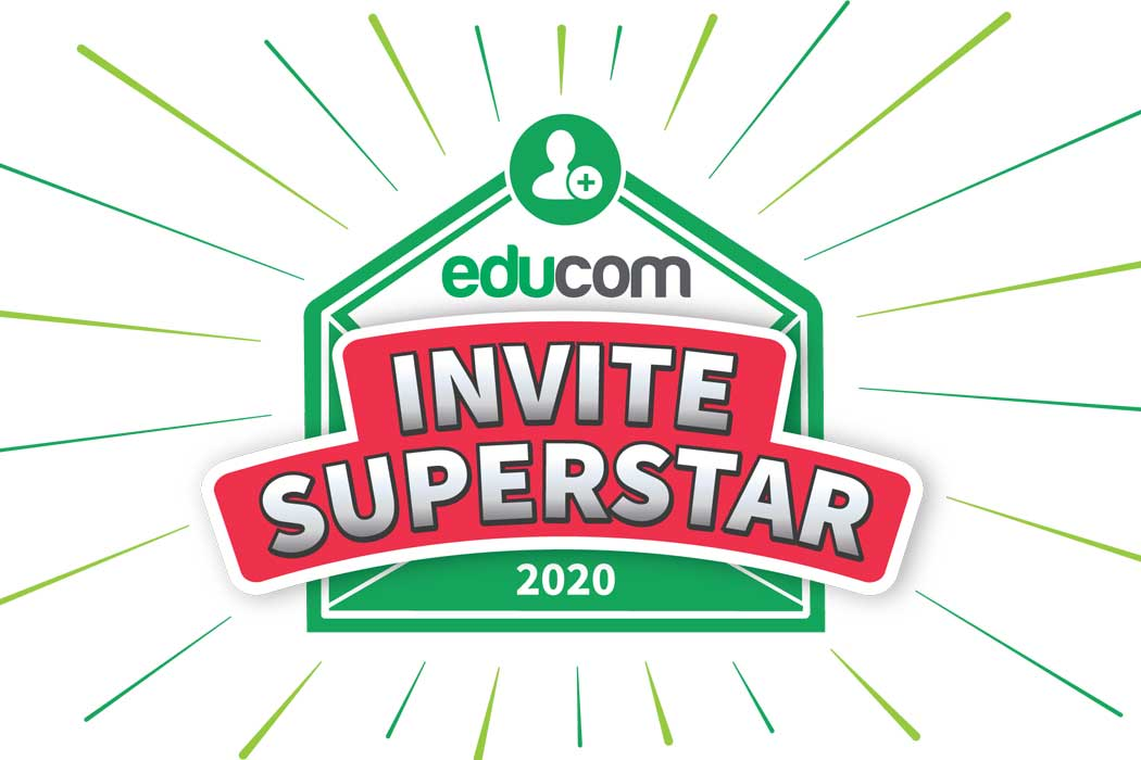 EDUCOM SUCHT DEN INVITE SUPERSTAR