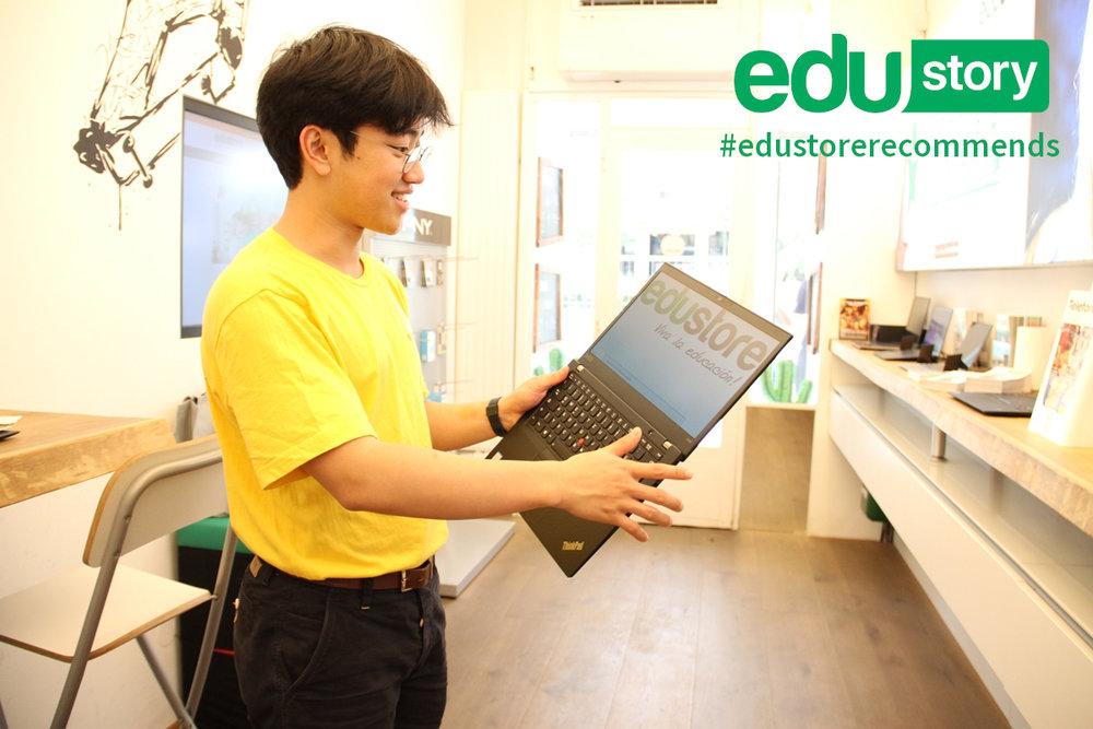 #edustorerecommends Lenovo Thinkpad X390
