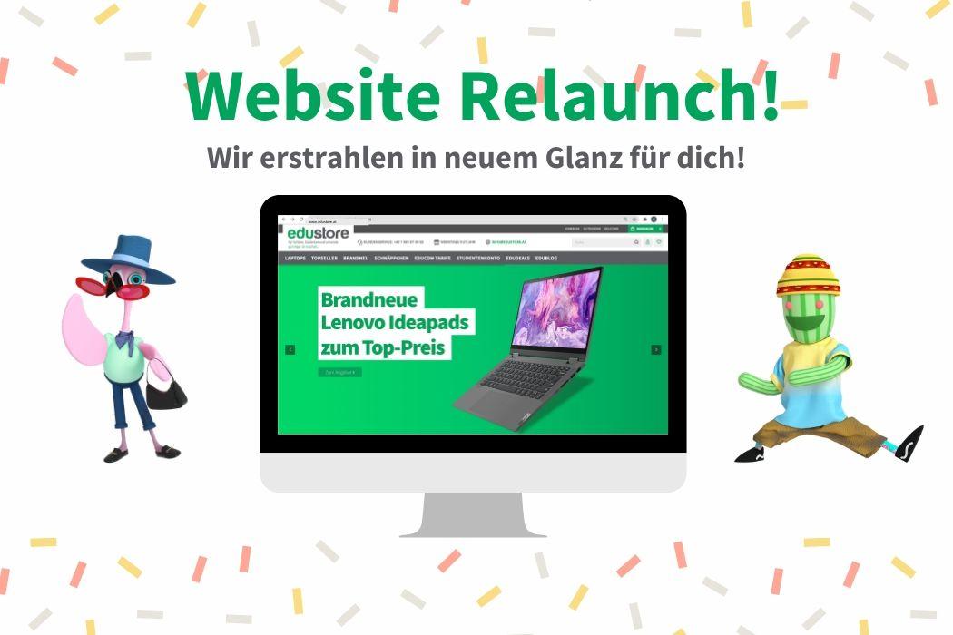 Website Relaunch - Wir erstrahlen in neuem Glanz für dich!