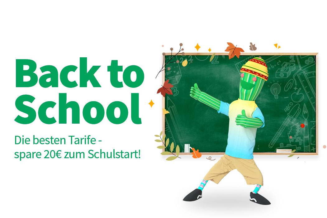 Back to school - bei educom!