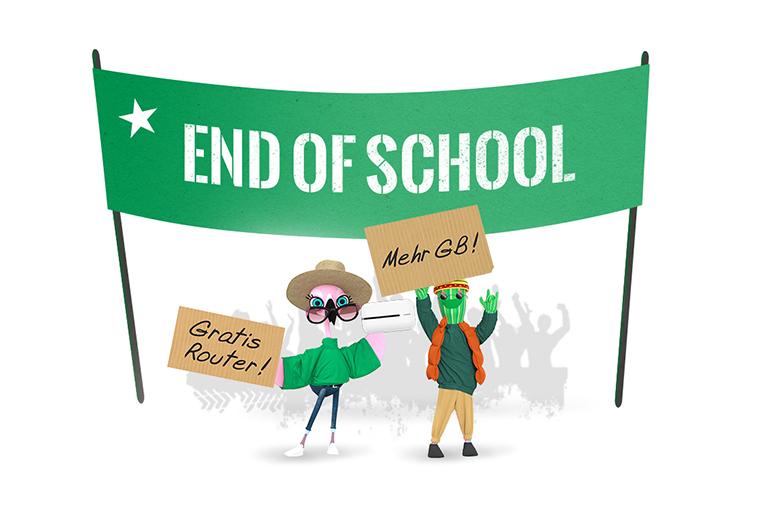 End of school - jetzt schon bei educom!